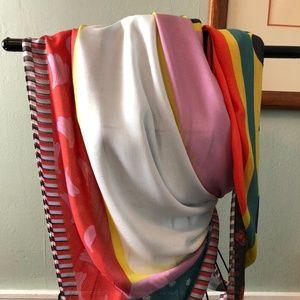 colorful ann taylor scarf